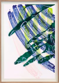No Title 2 by Katharina Grosse contemporary artwork print