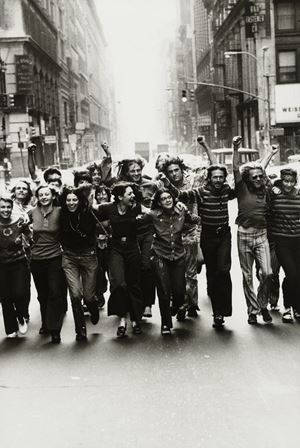 Gay Liberation Front Poster Image by Peter Hujar contemporary artwork