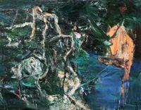 Gully 丘壑 by Tu Hongtao contemporary artwork painting