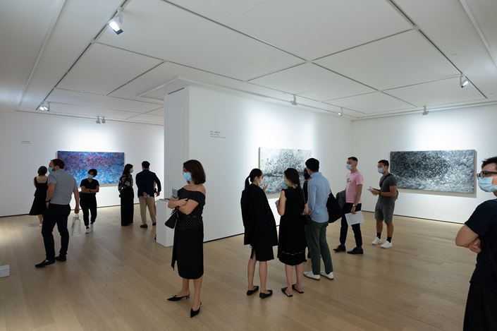 Exhibition view: Ren Sihong, Enlightenment, Whitestone Gallery, Hong Kong (5 September–17 October 2020). Courtesy Whitestone Gallery, Hong Kong.
