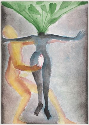 A Story Well Told XVII by Francesco Clemente contemporary artwork