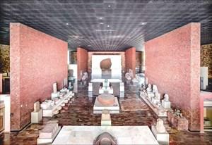 Museo Nacional de Antropología Ciudad de México II by Candida Höfer contemporary artwork