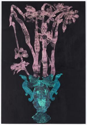 Cutting 3 by Caroline Rothwell contemporary artwork painting, works on paper
