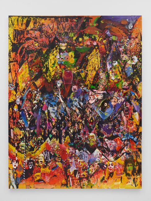 Big A, Little a by Van Hanos contemporary artwork