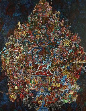 Fear by Yoga Mahendra contemporary artwork
