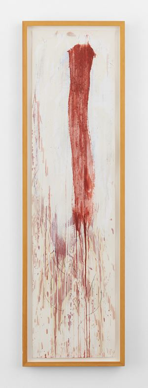 Winter Group VIII by Pat Steir contemporary artwork