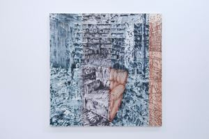 Señal de abandono 30 by Jorge Tacla contemporary artwork painting