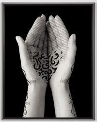 Offerings by Shirin Neshat contemporary artwork painting, works on paper, photography, drawing
