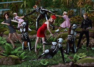 Allegoria Sacra, The Dance by AES+F contemporary artwork
