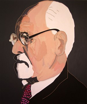 S. Freud by Lee Waisler contemporary artwork