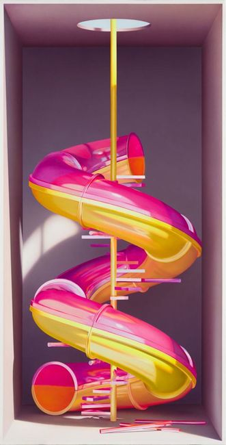 The Repetitive Joy by Medhi Ghadyanloo contemporary artwork