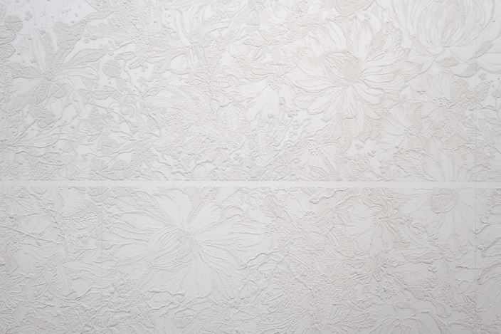 Shinji Ohmaki,Liminal Air Space-Time(2020). Cloth, fans, LED lights. Dimension Variable. Exhibition view: Shinji Ohmaki,Rustle of Existence,Kuandu Museum of Fine Arts, Taipei (11 September–22 November 2020). Courtesy the artist andKuandu Museum of Fine Arts.