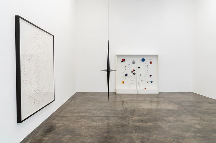 Exhibition view: Group Exhibition,Reflections on Space and Time,Galeria Nara Roesler, São Paulo (1 April–11 May 2019).Courtesy the artist and Galeria Nara Roesler. Photo:© Erika Mayumi.