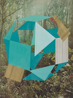 Construction (forest) by Kevin Appel contemporary artwork