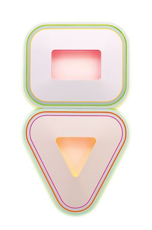 Untitled (High Cholesterol, Epilepsy) by Beverly Fishman contemporary artwork painting, mixed media