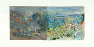To Bonnard, Set One 2 by Qi Lan contemporary artwork