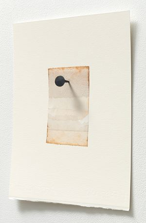 Brown notes by Jane Bustin contemporary artwork