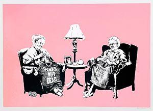 Grannies by Banksy contemporary artwork