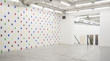 Contemporary art exhibition, John Armleder, La Bruche du Haricot at Almine Rech, Brussels