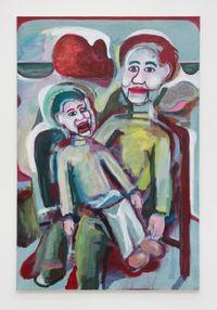 Talk Talk Talk by Simon Blau contemporary artwork painting
