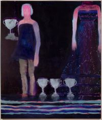 Trophies by Katherine Bradford contemporary artwork painting