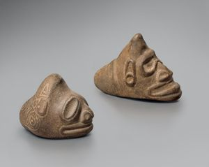 Two 'Trigonolith's' by Micronesia contemporary artwork