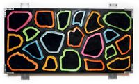 Wall-Wall No. 4 (Black Invert) by Ashley Bickerton contemporary artwork painting