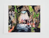 Wash Up (Cave of Enlightenment) * by Hernan Bas contemporary artwork print