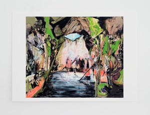 Wash Up (Cave of Enlightenment) * by Hernan Bas contemporary artwork