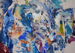 Element c-m-2 by Anne Kagioka Rigoulet contemporary artwork