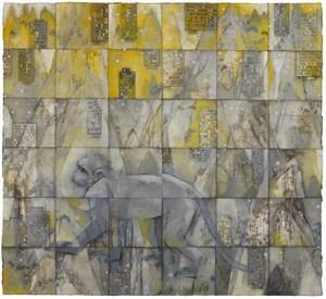 Walking Monkey 行走的猴子 by Zhang Hongtu contemporary artwork