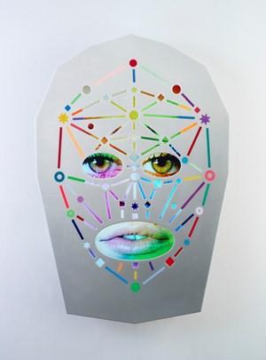 E*Nel by Tony Oursler contemporary artwork