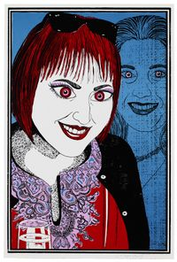 Six Snapshots of Julie (colour) by Grayson Perry contemporary artwork print
