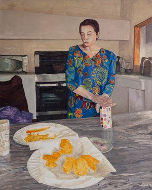 Heartbreak Pakoras by Fiza Khatri contemporary artwork
