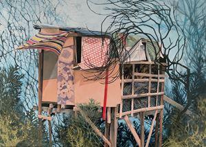 Posten II by Mirjam Völker contemporary artwork
