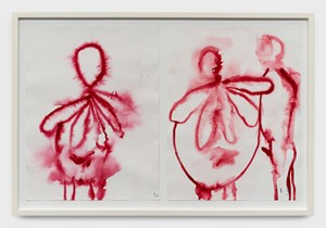 Alone and together by Louise Bourgeois contemporary artwork works on paper