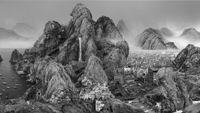 Endless Streams by Yang Yongliang contemporary artwork moving image
