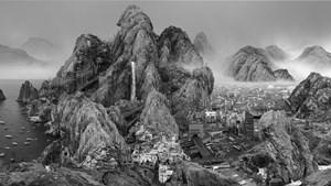 Endless Streams by Yang Yongliang contemporary artwork