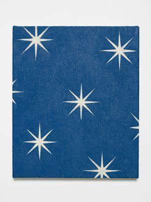 Little Ocean (Prussian blue) by David Austen contemporary artwork