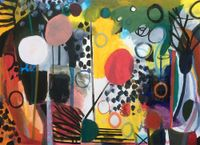 Saturday by Bill Scott contemporary artwork painting, works on paper