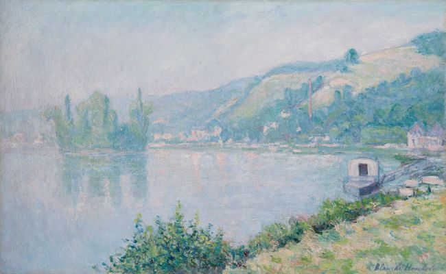 Bords de Seine by Blanche Hoschede-Monet contemporary artwork