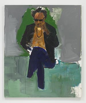 Portrait of Steve Cannon by Henry Taylor contemporary artwork