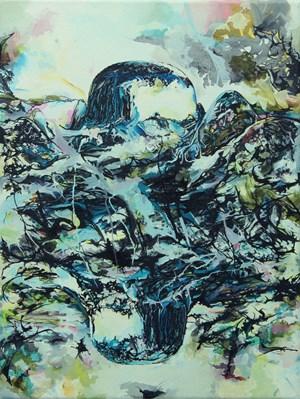 Chartureze Azure by Irene Hanenbergh contemporary artwork