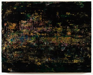 Travelers Among Mountains and Streams in Dark 黑谿山行旅圖 by Su Meng-hung contemporary artwork