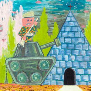 special forces by Pow Martinez contemporary artwork