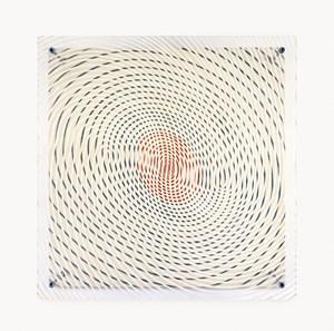 Espiral con rojo by Jesús Rafael Soto contemporary artwork