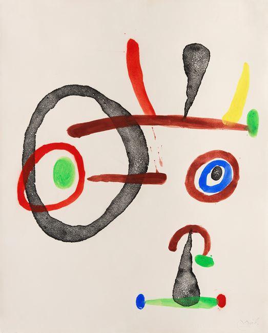 Femmes by Joan Miró contemporary artwork