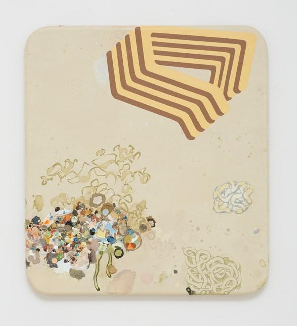 Amber Bulwark by Mark Rodda contemporary artwork
