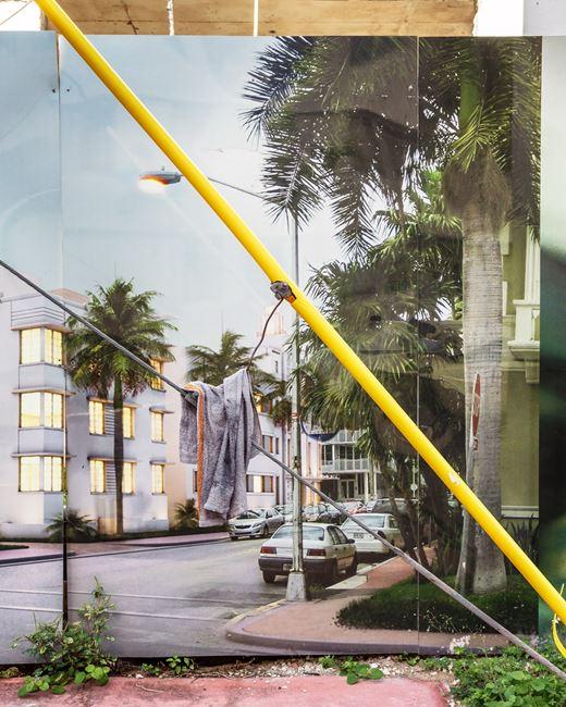 Construction in South Beach III by Anastasia Samoylova contemporary artwork