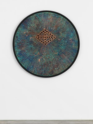 Correctional Circle 0128 by Nari Ward contemporary artwork